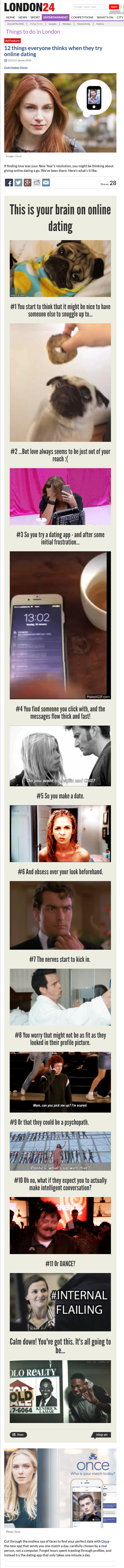 12 things everyone thinks when they try online dating   Things to do   London 24.png